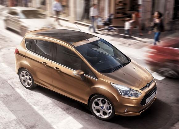 Ford B-Max, precios oficiales para España