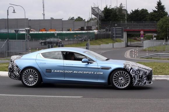 ¿Está Aston Martin preparando un Rapide más potente?