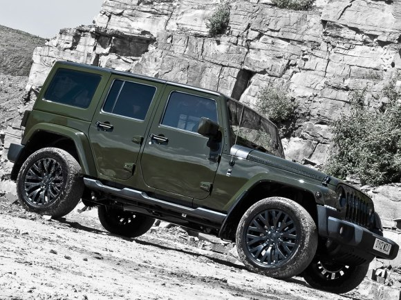 Jeep Wrangler Unlimited por A. Kahn