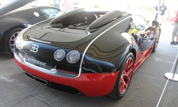 GoodWood 2012: Bugatti Veyron Grand Sport Vitesse