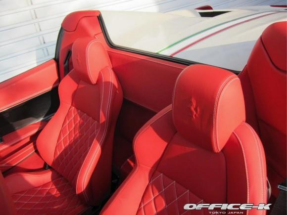Cambio de imagen para Ferrari 458 Spyder gracias a Office-K