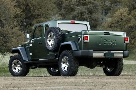 Jeep en versión camioneta, una posibilidad para 2015