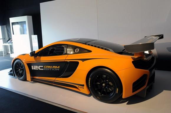 Pebble Beach 2012: McLaren MP4-12C Can-Am Edition