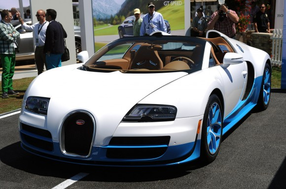 Pebble Beach 2012: Bugatti Veyron 16.4 Grand Sport Vitesse