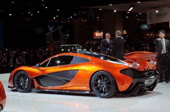 París 2012: McLaren P1