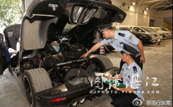 El gobierno de China confisca un Koenigsegg Agerra R BLT
