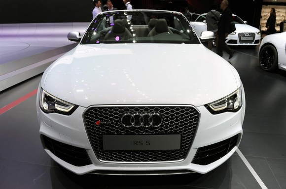 París 2012: Audi RS5 Cabrio