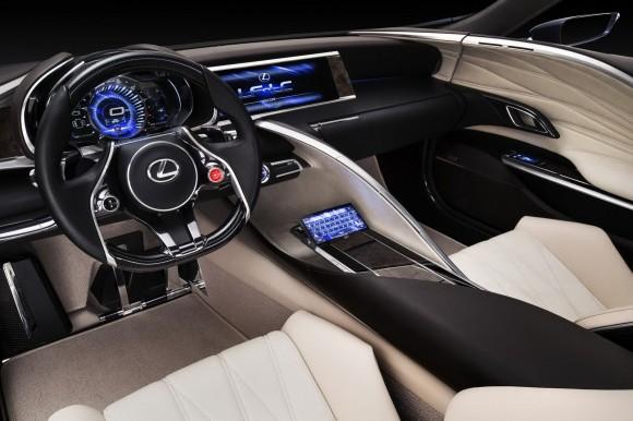 Lexus pinta de azul eléctrico su LF-LC para Sydney 2012