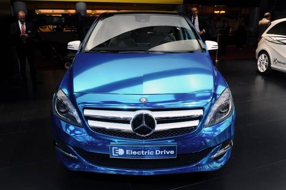 París 2012: Mercedes Clase B Electric Drive