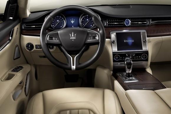 Maserati Quattroporte estrenará motores V6 y V8