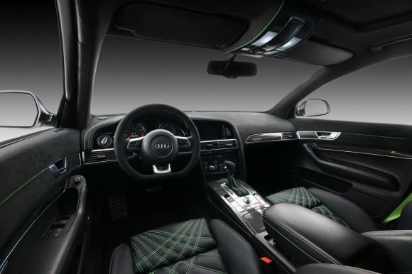 Audi RS6 Avant bajo el rodillo de Vilner