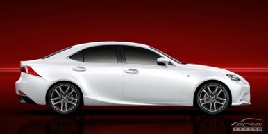 Las primeras imágenes del nuevo Lexus IS ya están aquí
