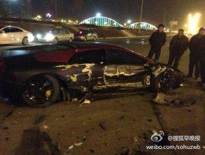Destroza un Lamborghini Murcielago LP640 mientras conducía borracho