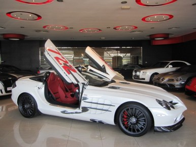 Mercedes SLR Roadster 722 S a la venta
