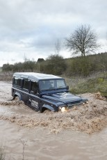 Land Rover Defender eléctrico, él también es capaz