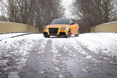 Schwabenfolia se atreve con el Audi RS3
