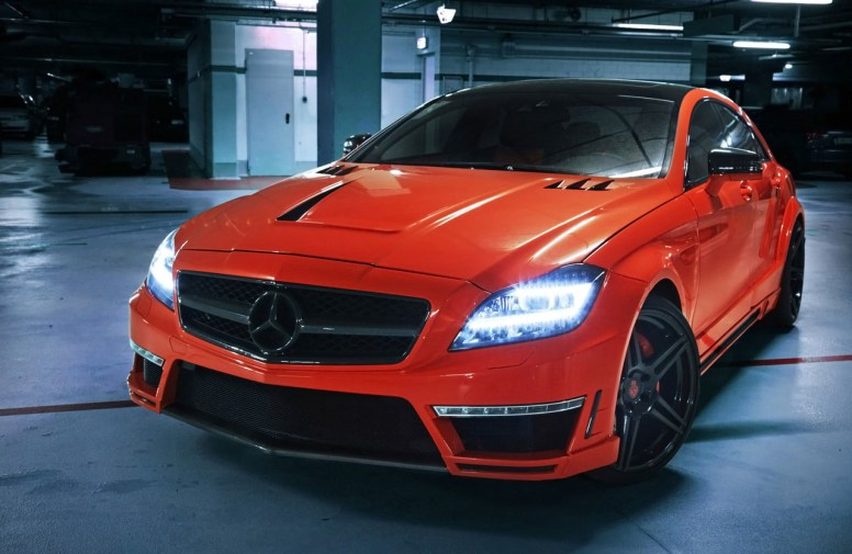 "Mercedes CLS63 AMG ""Stealth"""