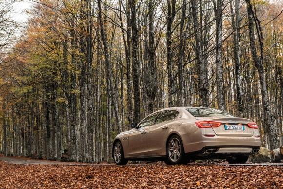 Maserati Quattroporte Limited Edition por Emenegildo Zegna
