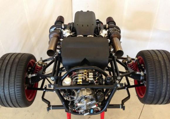 SSC se asocia con Nelson Racing para desarrollar el motor V8 del Tuatara