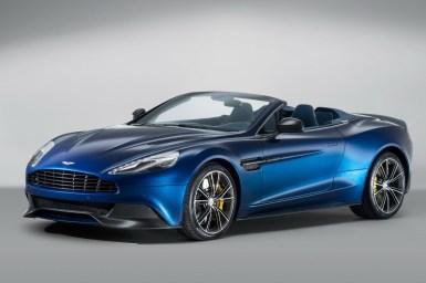 Aston Martin Vanquish Volante, oficial