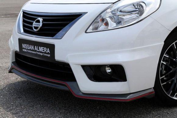 Nissan presenta el Almera Nismo