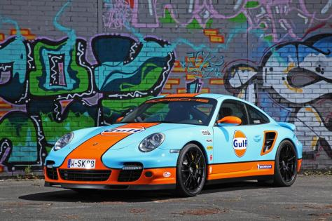 Porsche 911 Turbo por Cam Shaft