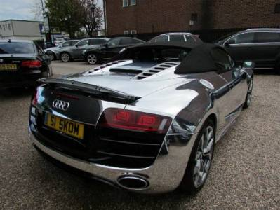 Audi R8 V10 cromado a la venta