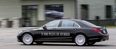 Mercedes S500 Plugin Hybrid, lujo híbrido