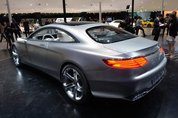 Fráncfort 2013: Mercedes Clase S Coupé Concept