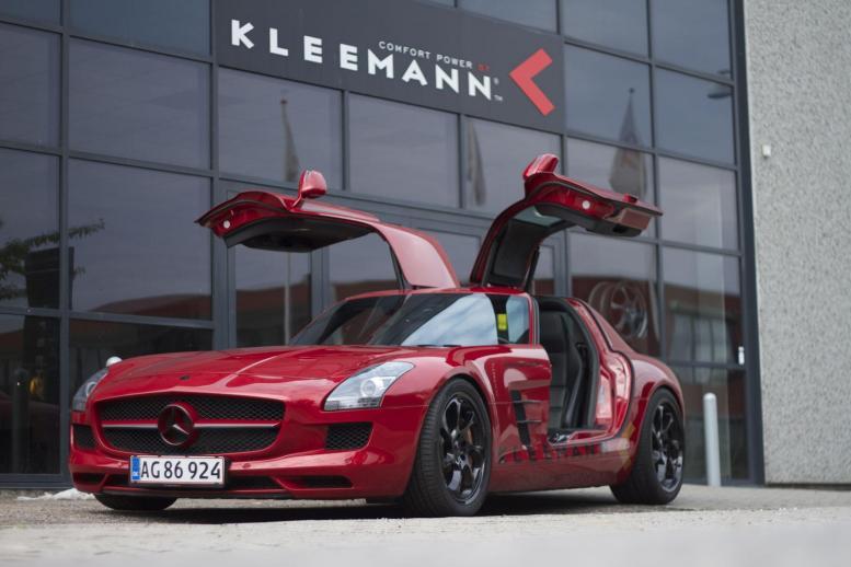 Kleemann nos presenta su Mercedes SLS AMG sobrealimentado