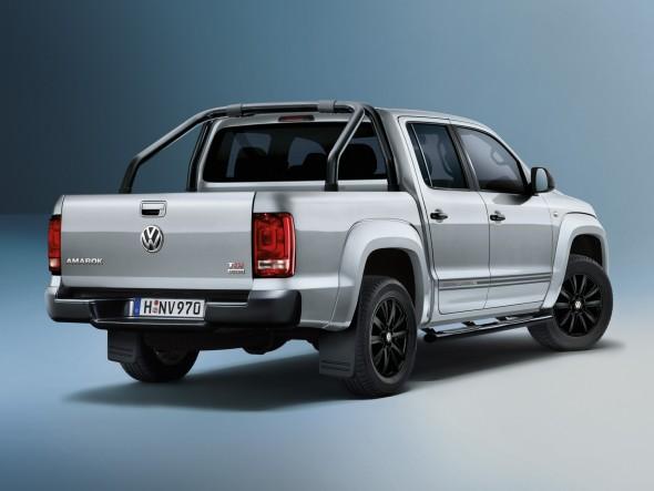 """Volkswagen Amarok """"Dark Label"""" directo a Fráncfort"""
