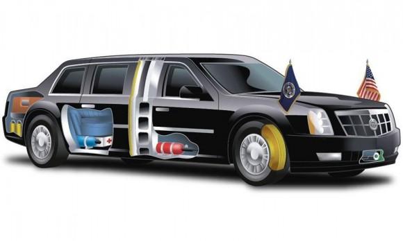 La bestia: el coche presidencial de Barack Obama 2