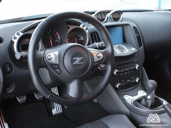 Prueba Nissan 370Z (estética y diseño interior)
