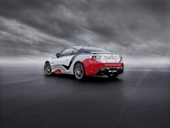 Toyota nos presenta el nuevo TMG GT86 CS-R3 3