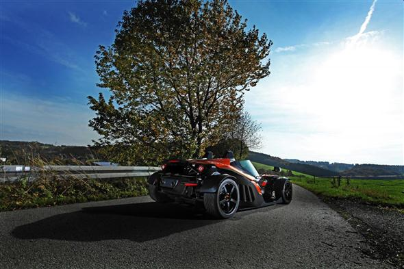 Wimmer RS KTM X-BOW GT, un verdadero juguete de circuito 1