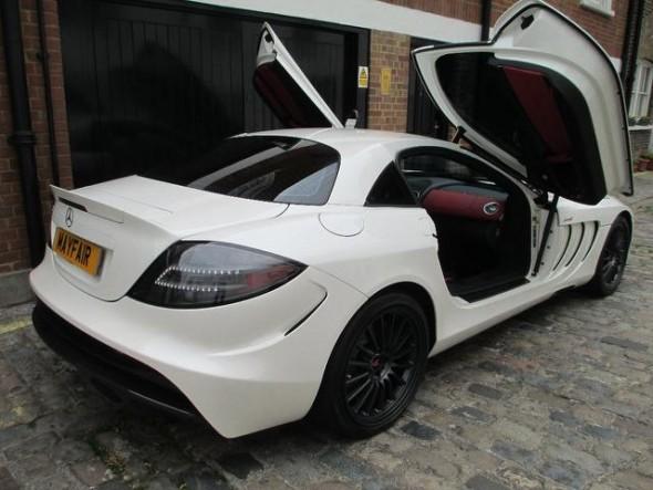 A la venta uno de los tres únicos Mercedes SLR McLaren Edition 2