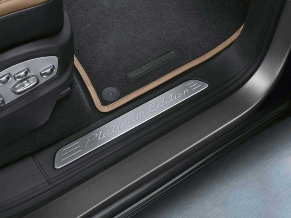 Porsche presenta el Cayenne Platinum Edition 3