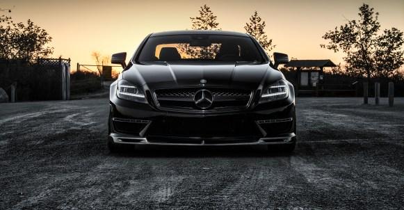 Mercedes CLS63 AMG por Vorsteiner
