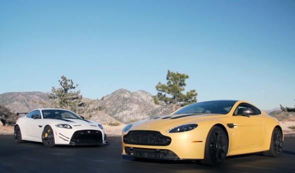 ¿Jaguar XKR-S GT o Aston Martin Vantage S? 1
