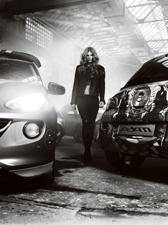 Opel presenta el Adam Bryan Adams 1