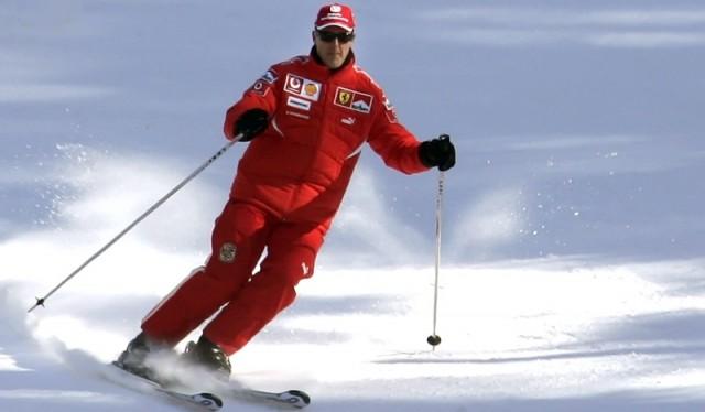 Schumacher en estado crítico tras su caída en la nieve 2