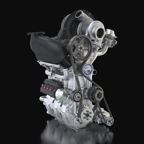 Nissan presenta un motor turbo de 1,5 litros y tres cilindros con 400 CV