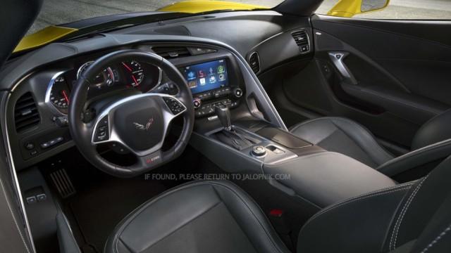 Filtradas las primeras imágenes del Corvette Z06 2014 1
