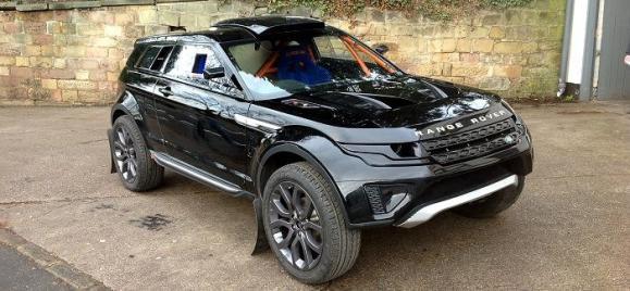 Milner LRM-1, aires de vehículo rally para el Range Rover Evoque