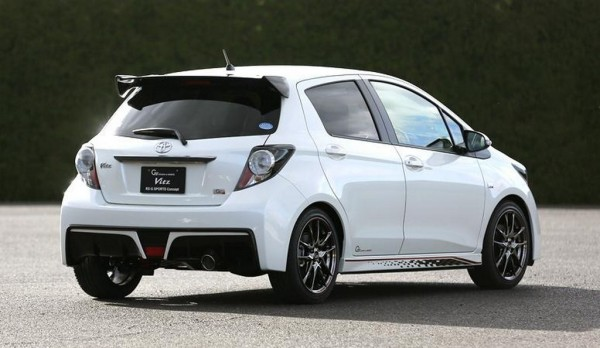 Toyota Vitz RS G Sports: Presente en el Salón de Tokio 1