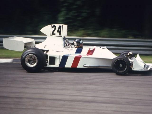 A subasta el Hesketh 308 con el que debutó James Hunt 4