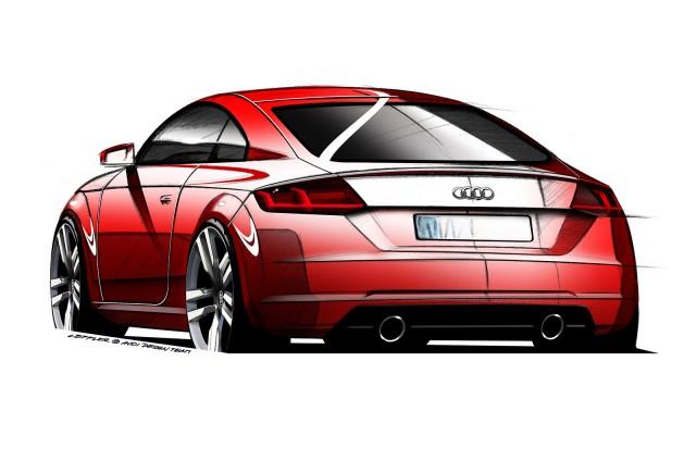 Audi nos adelanta el nuevo TT en unos bocetos 2