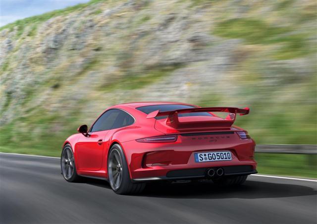 El Porsche 911 GT3 RS debutará en otoño 1