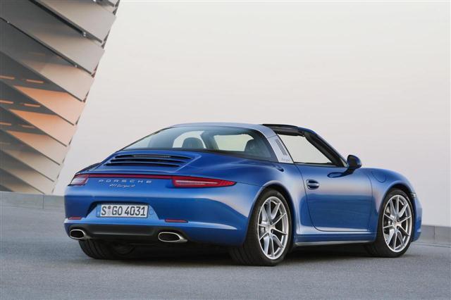 El Porsche 911 Targa Turbo estará en Ginebra 2