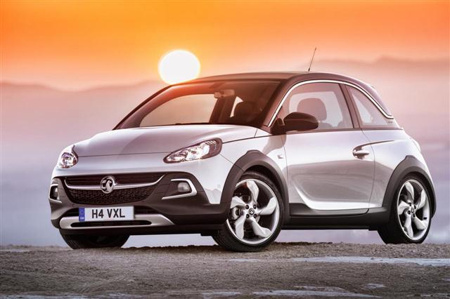 Oficial: Opel Adam Rocks de producción 3